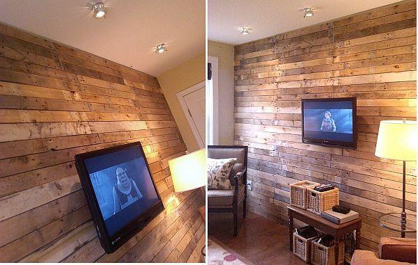Faire du design avec des palettes en bois