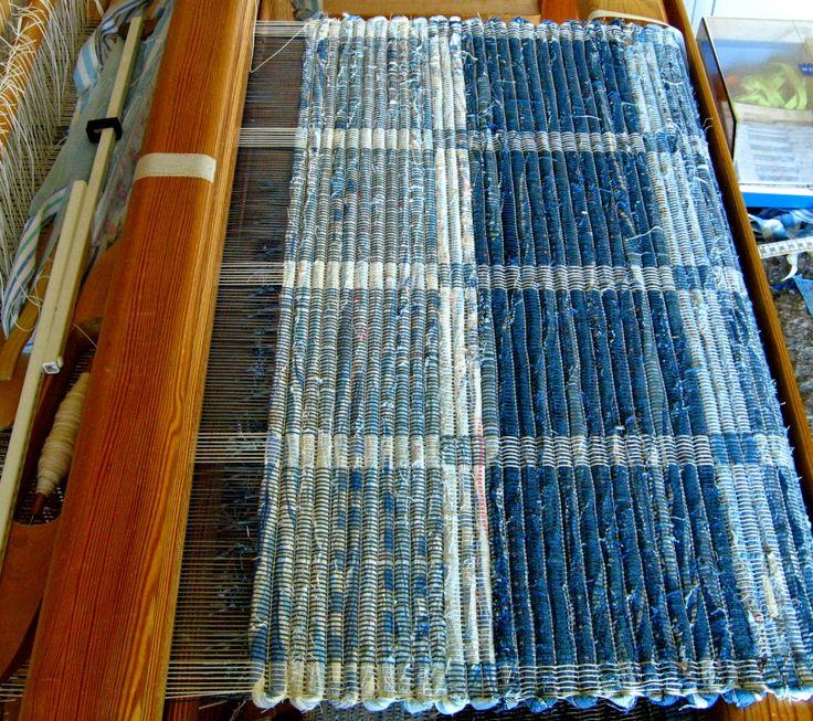 inspir är en blogg om vävning, om att väva mattor, om att väva bruksföremål, om att tänka vävning - vävtankar alltså.