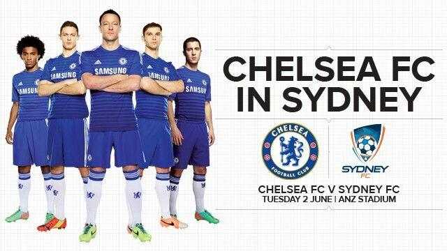 2015: Chelsea FC vs Sydney FC in Sydney, Australia