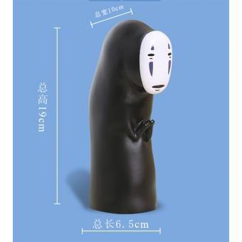 Mano perceptores de oficina modelo de animación El viaje de Chihiro hombre sin rostro adornos Piggy Bank