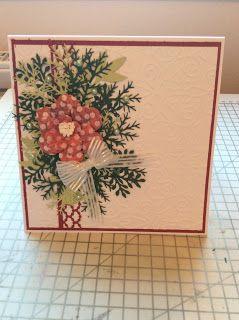 Kraftycards by Chris: 6 x 6 Card