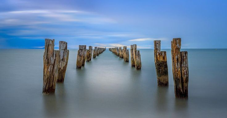Clifton springs Victoria. A well known photography hot spot that I could not resist :) #landscapephotography #travelphotography #longexposure #geelong #cliftonsprings #seascape #victoria #australia by kel_simmons13 http://ift.tt/1JO3Y6G