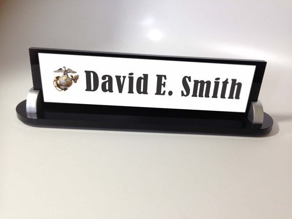 Military Name Plate Air Force AF Navy USN by thecraftgiraffe