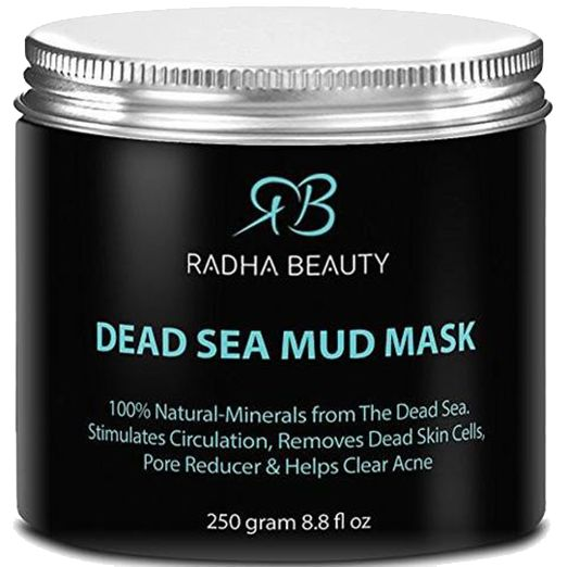 Our 8.8 fl oz Dead Sea Mud Mask is an excellent exfoliant and natural detoxifier, made from the natural mud of the Dead Sea. Enriched with minerals of the Earth, this mud mask can reduce the size of p
