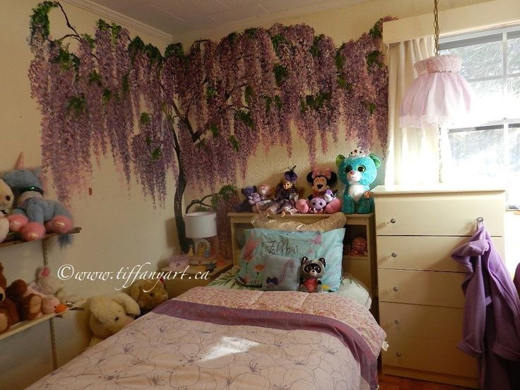17 Best Images About Wisteria Mural On Pinterest