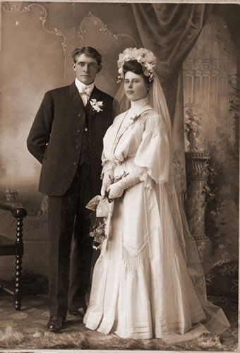 40 best BW Photos - 1800's - 1920's Weddings images on ...