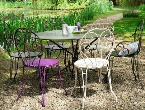 Fermob MONTMARTRE | Gartenstuhl mit Armlehne