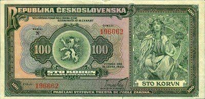 100 Kč - 1920