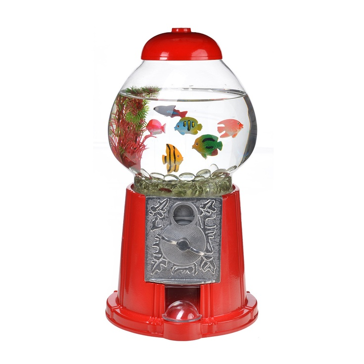 107 best images about fishes and fish bowls on pinterest for Gumball machine fish tank