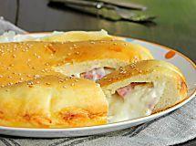 BRIOCHE SALATA WURSTEL E FORMAGGIO la torta salata più soffice del mondo e con un ripieno cremoso che vi farà