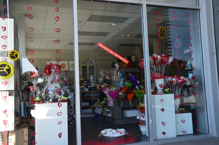 Window Display Valentines 2015 .... still needs the big heart in the middle ...watch this space!!