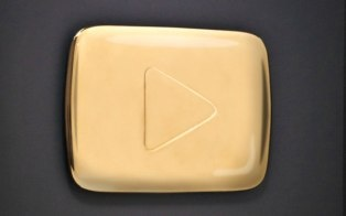 YouTube launched a program to reward channels that surpass 1 million or 100,000 subscribers with a gold-plated play button and more.
