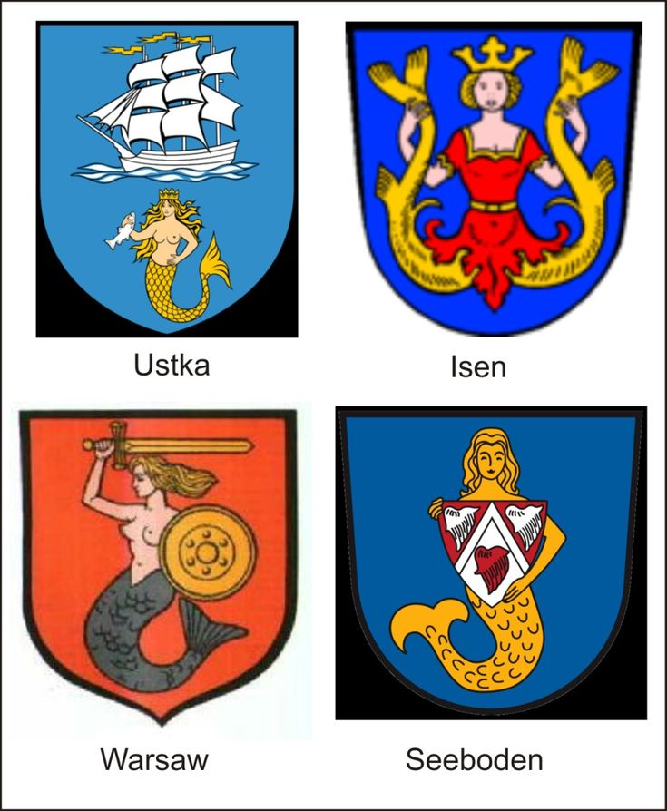 stadtwappen.jpg City arms with mermaids established during the late Renaissance.