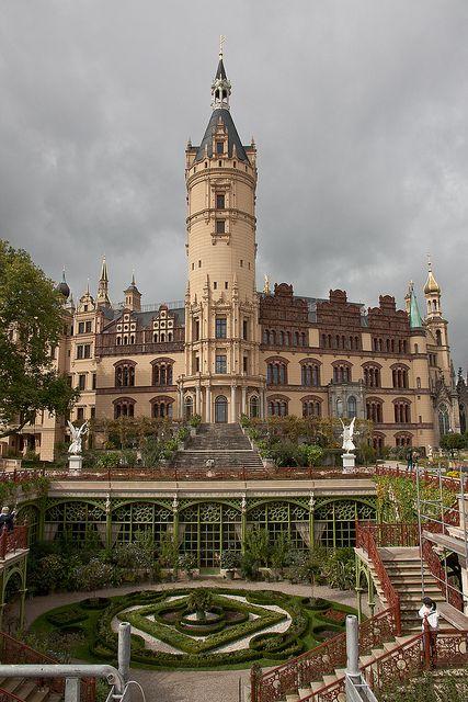 Schwerin Castle. Orangery at the Schwerin Castle