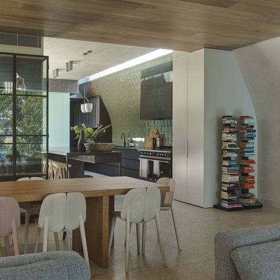 Leeton Pointon Architects + Interiors and Allison Pye Interiors The  approach was to seamlessly integrate all elements of interiors,  architecture, ...
