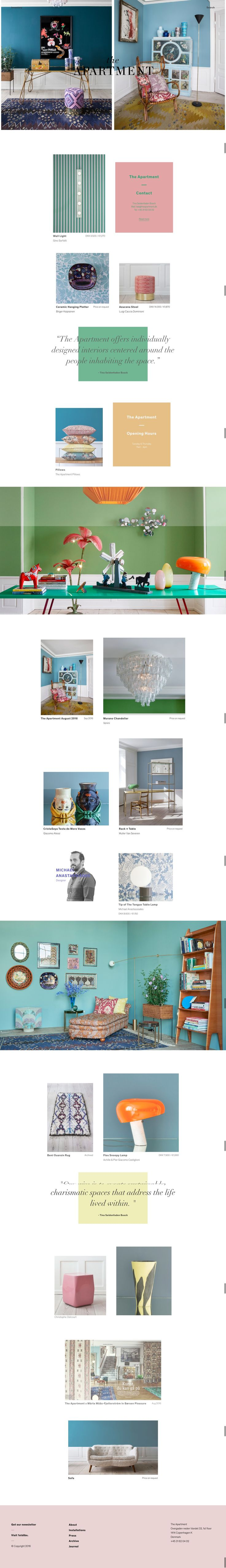The Apartment #WebDesing