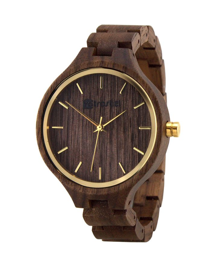 Portobelo Nut - A wonderful wood watch by Retrostiel