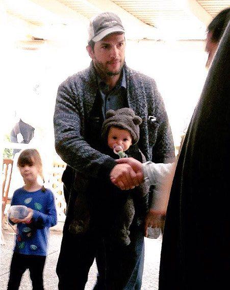 primeras fotos de la bebé de Mila Kunis y Ashton Kutcher | ActitudFEM