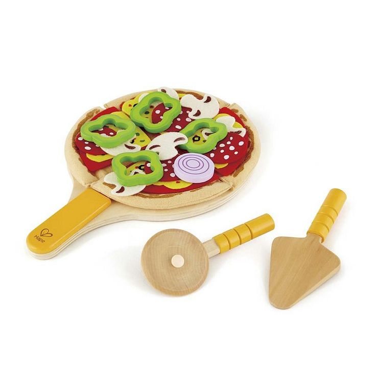 Hape Homemade Pizza Playset, Multicolor
