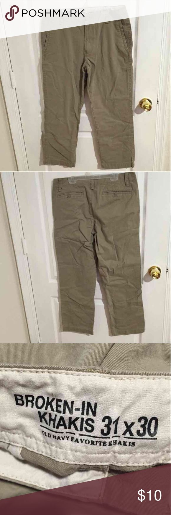 Old Navy Men's Khaki Pant Size 31X30 Old Navy men's khaki straight leg pant. Size 31X30 never worn. Old Navy Pants Chinos & Khakis