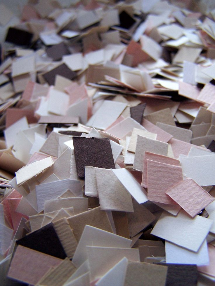 Paper confetti by Willie wagtail design