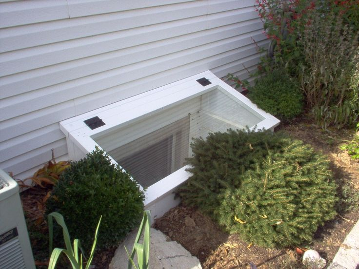 New Egress Basement Window Well