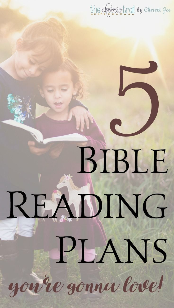 Includes a new and unique option! These Bible reading plans offer daily options, through the year Bible printable plans, chronological one-year Scripture reading schedules, multimedia, videos, podcasts, apps, and even a real paper Bible arranged chronologically. via /ChristiLGee/