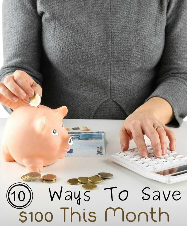 With the cost of living constantly growing and the holidays coming up, having enough money is a major concern for most people. Here are 10 Ways To Save $100 This Month (without a whole lot of sacrifice).