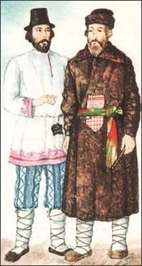 Женский русский народный костюм реферат