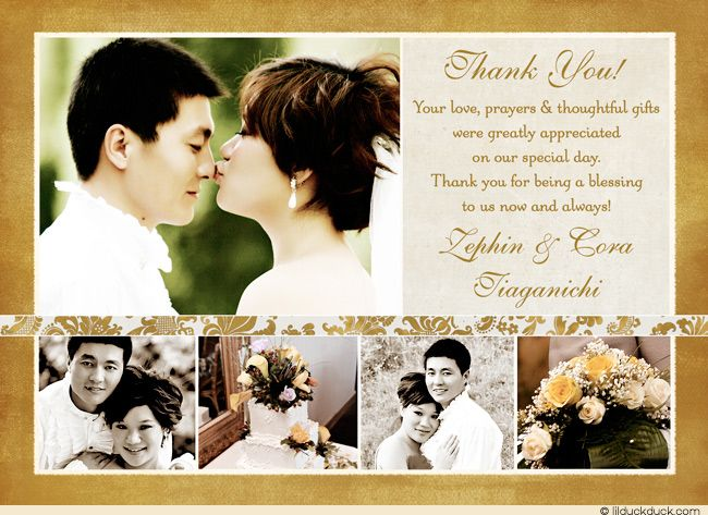 Thank You Ideas For Wedding: 17 Best Images About Personalized Wedding Thank You Ideas
