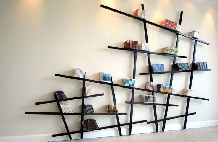 Inspiré par la géométrie et les lignes droites toutes simples, voici un meuble original minimaliste
