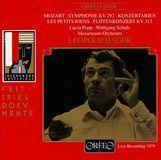 Mozart: Symphonie KV 297; Konzertarien; Les Petits Riens; Flötenkonzert KV 313 [CD], 03698624