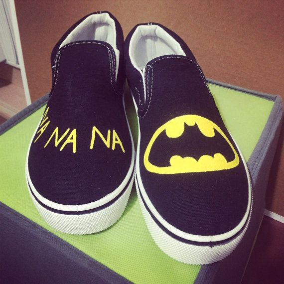 Batman Shoes: Adult's