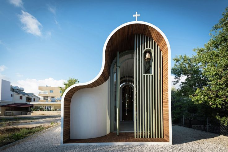 Image 1 of 17 from gallery of Apostle Peter and St. Helen the Martyr Chapel / Michail Georgiou. Photograph by Charis Solomou