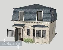 25 b sta mansard roof id erna p pinterest for Mansard roof house plans