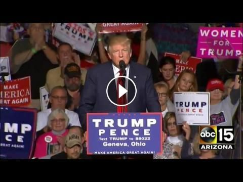Donald Trump Speech Today 10/27/16 in Geneva, Ohio: Please Subscribe & Share ( USA TV ) ------------------------ Subscribe To Get Latest…