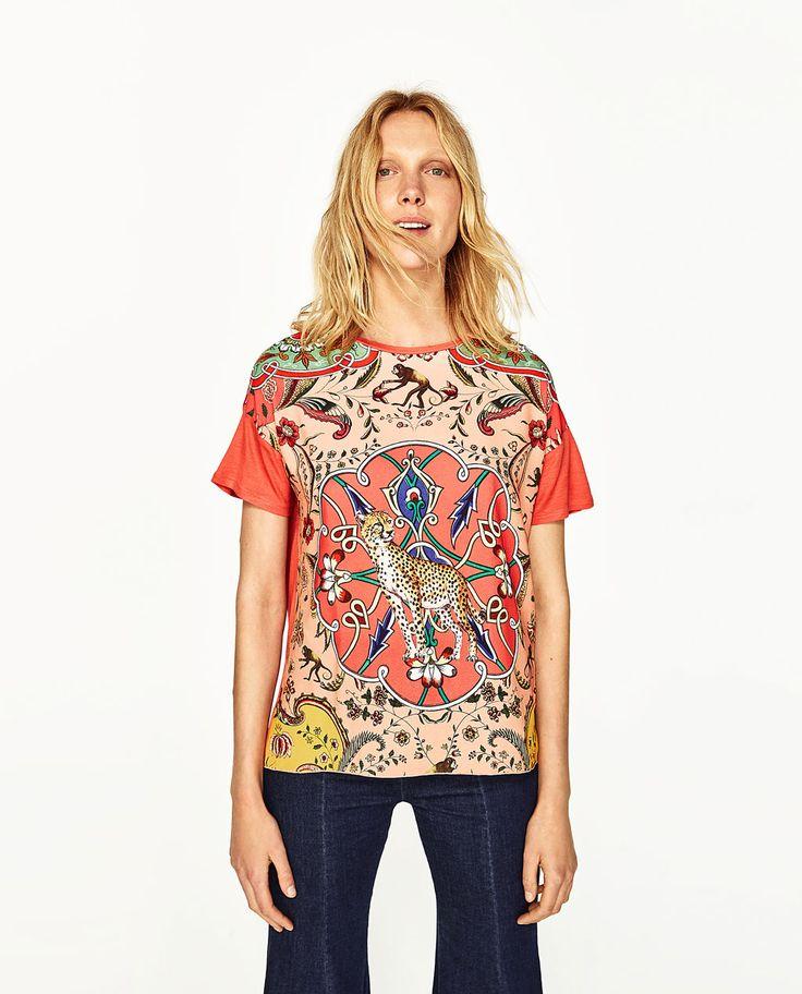 T-shirts met korte mouwen voor dames | ZARA België