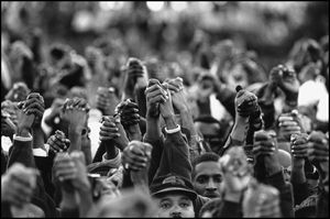 Million Man March...it still saddens me that we are still fighting to be heard.