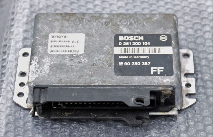 GENUINE VAUXHALL ASTRA GTE 2.0 BOSCH ECU 01261200104 GM90280357