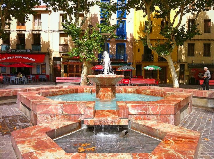 Place des Esplanades in Perpignan