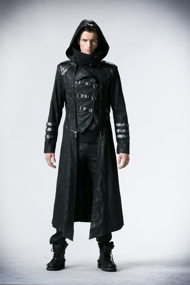 Details About Coat Jacket Gothic Steampunk Transformable 2