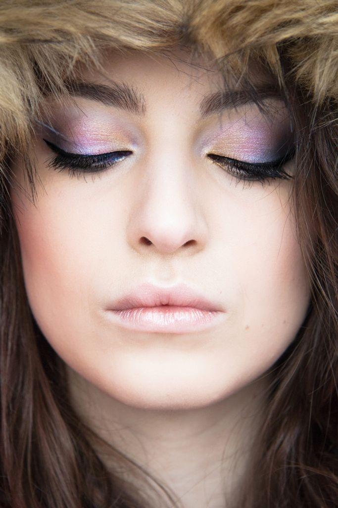 Szkoła Wizażu i Charakteryzacji SWiCH - praca z zajęć wizażu / Make-up: Kinga Buśko  / Modelka: Katarzyna Żurawska / Fotografia: Anita Kot  #wizaż #makijaż #beauty #portret #szkolawizazu