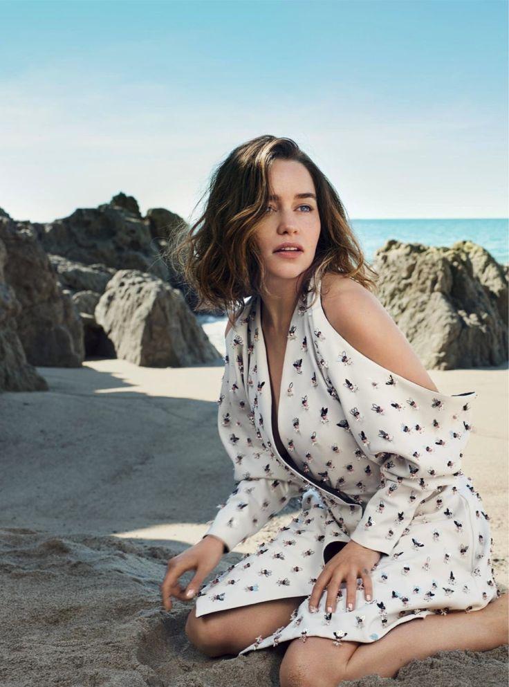 """Swept Away"" Emilia Clarke for Harper's Bazaar UK July 2016"