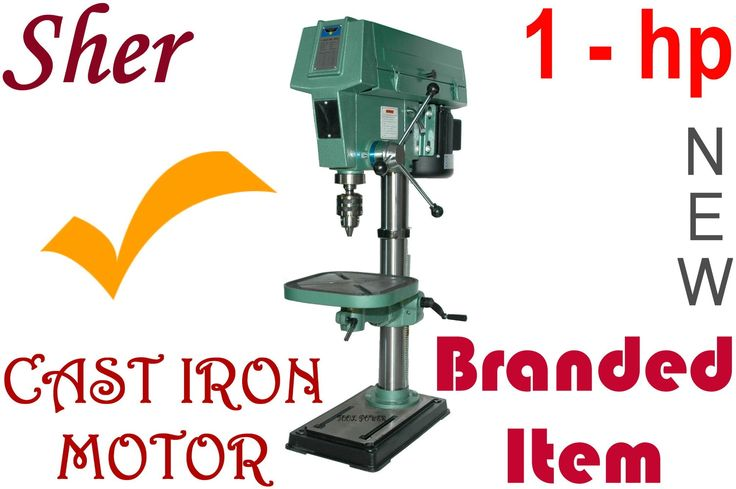 Drill Press SHER, 1-hp, 12-speed