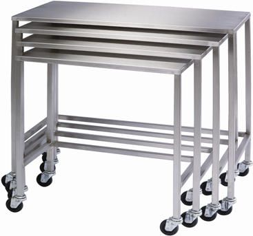BUY this in a variety of ways! The stainless steel property makes it last FOREVER. You can SAVE space when using these!