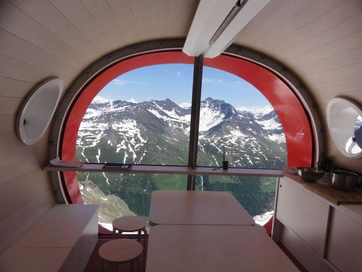 idesignme_Bivacco6 #Interiors #Bivacco #Mountain #Trends #Design #Tecnology #Space #Beds #views http://idesignme.eu/2013/04/design-ad-alta-quota/