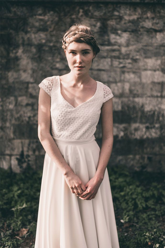 Les robes de mariée personnalisables de Marion Kenezi   Photographe : Julien Navarre   Donne-moi ta main - Blog mariage