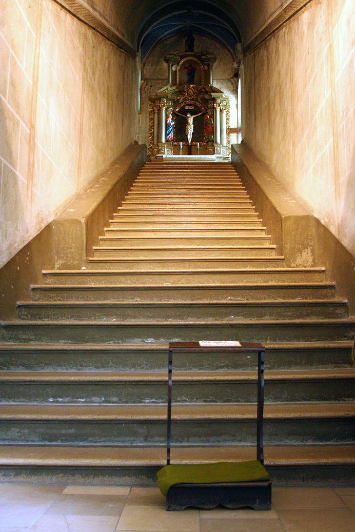 Kláštor -Sväté schody