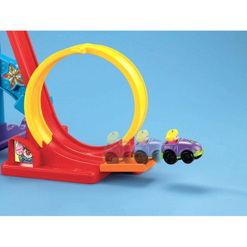 FisherPrice Little People Wheelies Loops 'n Swoops
