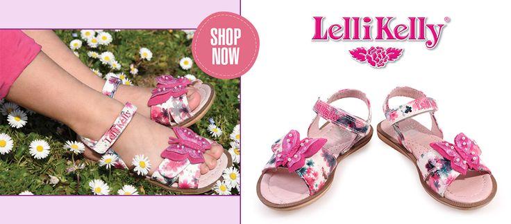 Παιδικά παπούτσια κοριτσίστικα, της LELLI KELLY | #SAGIAKOS